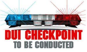 Sobriety Checkpoint to be Conducted this Saturday, in St. Mary's County