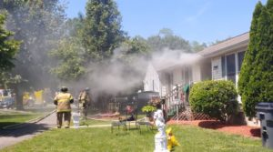 House Fire Quickly Extinguished by Volunteer Firefighters in Great Mills