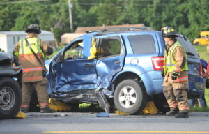 Minor Injuries Reported After Motor Vehicle Accident on Point Lookout Road in Callaway