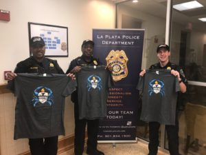 La Plata Police Department Raises Money for Special Olympics of Maryland