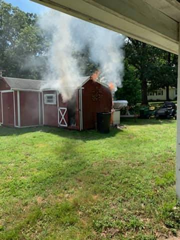 Shed Fire In Mechanicsville Under Investigation Southern