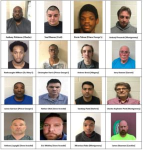 'Operation Broken Heart' Yields 58 Arrests In Maryland