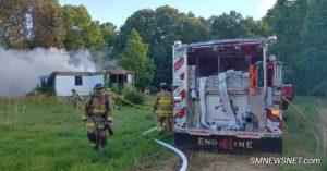 VIDEO: Trailer Fire in Ridge Under Investigation
