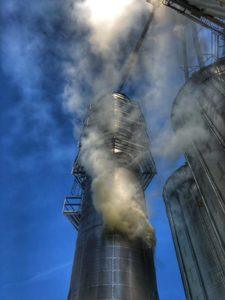 Grain Dryer Fire in Lothian