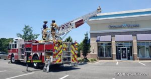 No Injuries Reported After Gas Leak Causes Strip Mall to Evacuate in California