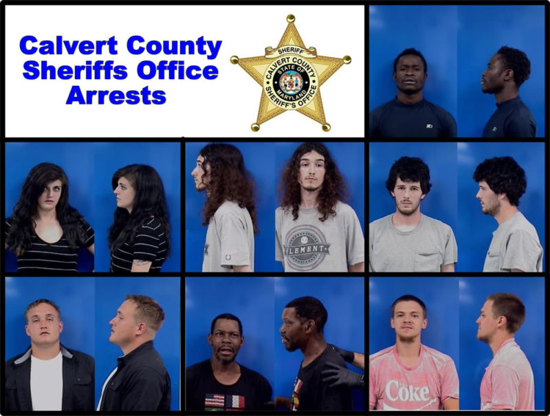 Calvert County Sheriffs Office Arrests and Investigations – 6/18/2019