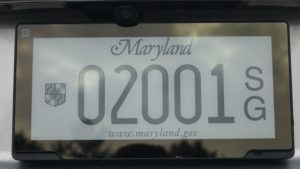 Maryland Testing Digital License Plates
