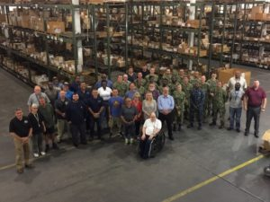 Pax River Supply Division Wins Supply Blue E