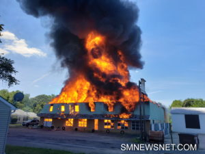 UPDATE: State Fire Marshals Office Investigating Commercial Building Fire in Leonardtown