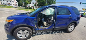 Motor Vehicle Accident on Great Mills Road Sends Two to Hospital
