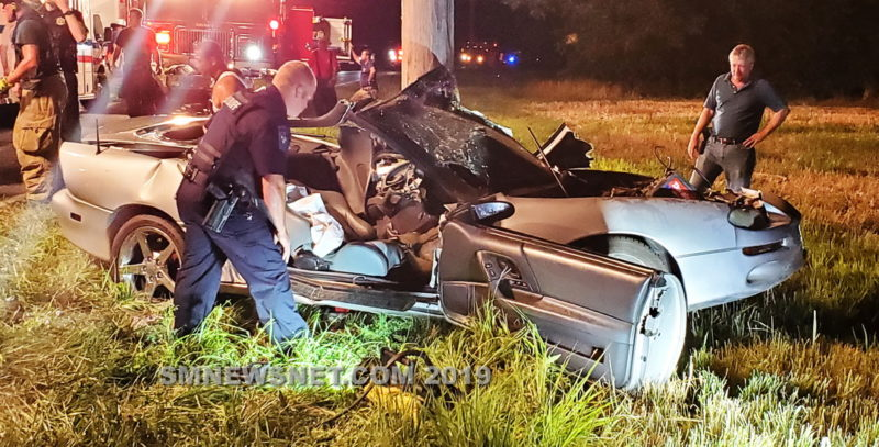 25-Year-Old Man Flown to Area Trauma Center After Motor Vehicle