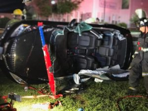 One Injured After Serious Rollover Crash in Prince Frederick