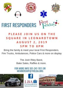 First Responder Friday in Leonardtown