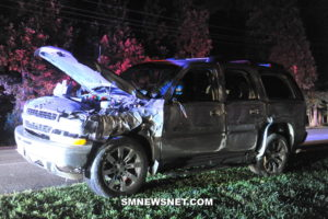 One Injured After Single Vehicle Strikes Tree in California