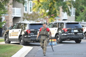 EXCLUSIVE PHOTOS: Barricade Situation in California Ends Peacefully