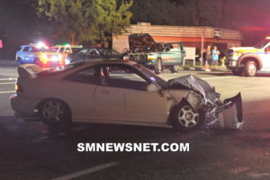 Five Injured After Early Morning Three Vehicle Crash in Great Mills