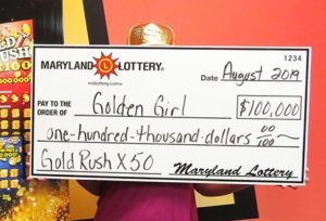 Huntingtown Woman Wins $100,000 on Scratch-Off at Discount Liquors