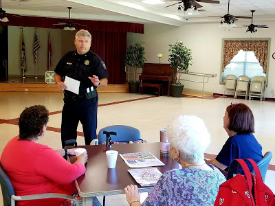 St. Mary's County Sheriff Tim Cameron Addresses Animal Cruelty Case, Opioid Abuse and Other Concerns at Coffee with the Sheriff Event in Charlotte Hall