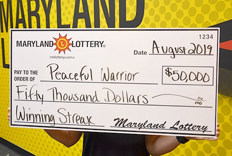 Calvert County Woman Follows Her Father's Lottery Footsteps Which Wins Her $50,000