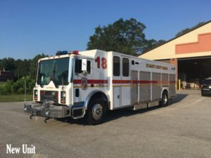 St. Mary's County Department of Emergency Services Replacing Old Hazmat Units