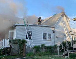 State Fire Marshals Office Investigating House Fire in North Beach