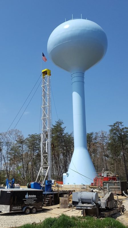MetCom Reports Progress on Water Storage Tower Construction in St. Mary's County