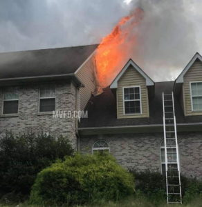 Firefighters Respond to House Fire in Mechanicsville Twice in 5 Hours, Original Fire Deemed Accidental by State Fire Marshal