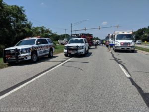 Crash in Calvert County Sends One to Trauma Center