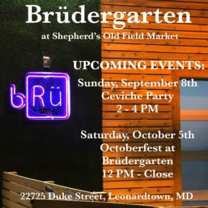 Shepherd's Old Field Market Upcoming Events in September and October 2019
