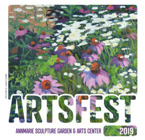 Artsfest '19 Fine Arts Festival – Saturday & Sunday, September 21 & 22 at Annmarie Sculpture Garden & Arts Center