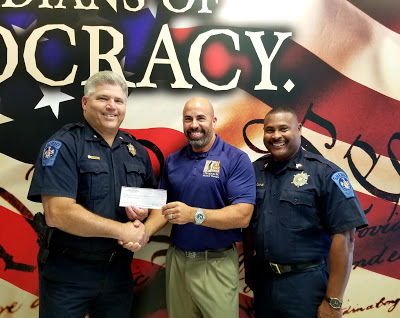 Dr. Jay Lipoff Makes $500 Donation to the St. Mary's County Sheriff's Office K9 Unit