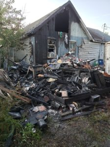 UPDATE: State Fire Marshals Office Still Investigating Shed Fire in Leonardtown