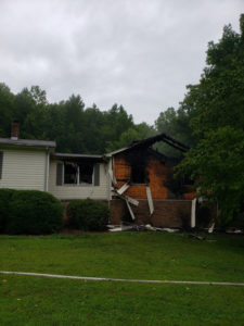 Cat Perishes in Hughesville House Fire Caused by Lightning Strike