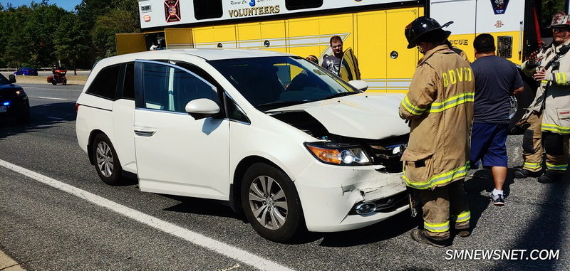 One Injured After Motor Vehicle Accident in California