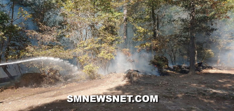 Firefighters in St. Mary's County Quickly Extinguish Large Brush Fire in California