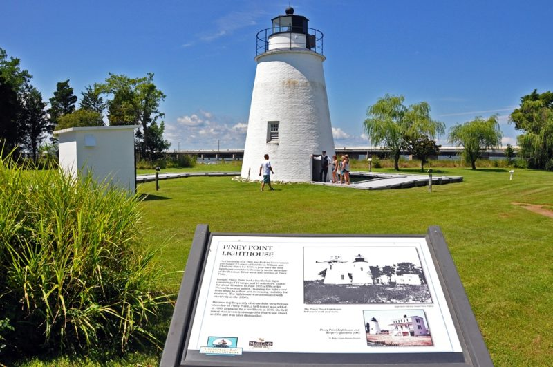 Piney Point Lighthouse Museum Pier Has Reopened After Suffering Partial Collapse