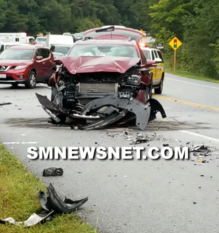 Motor Vehicle Accident on Patuxent Beach Road Sends Two to
