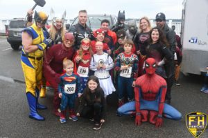 Walk, Run, Roll or Fly to the Race 4 Heroes 5K on, Saturday, October 12, 2019