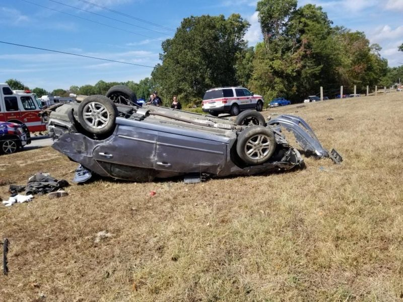 Driver Transported to Area Trauma Center After Single Vehicle Rollover in Chaptico