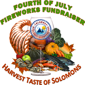 Annual Harvest Taste of Solomons on Saturday, October 12th, 2019, Restaurants Offer Tastes of Fine Food and Beverages
