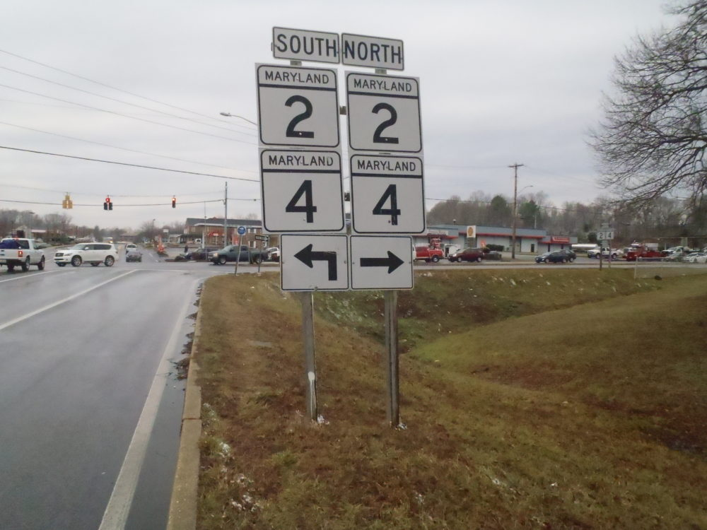 New Traffic Signal at Maryland Route 2 and 4 in Calvert County Now Operational