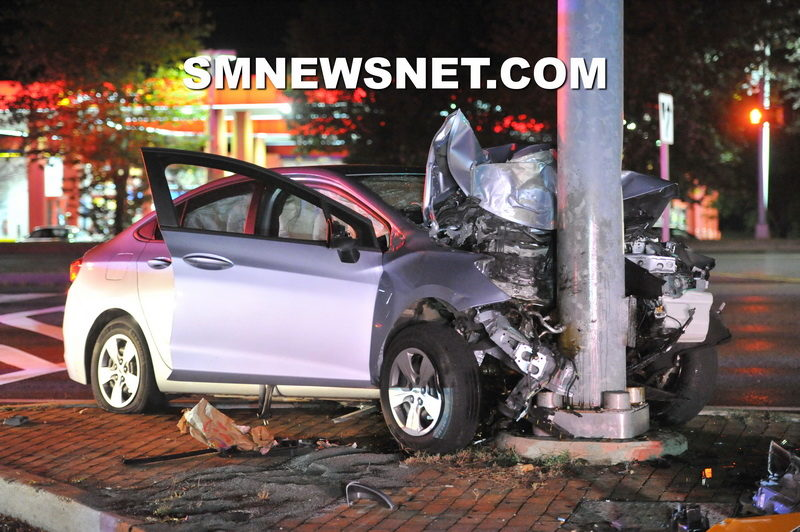 Suspected Impaired Driver Arrested After Striking Pole in California