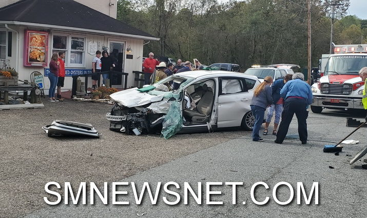 Head-on Crash in Leonardtown Injures Two, Sends One to Trauma Center