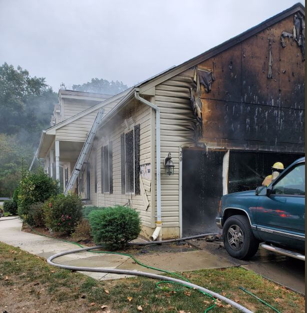 Malfunctioning Power Washer to Blame for House Fire in Indian Head, No Injuries Reported