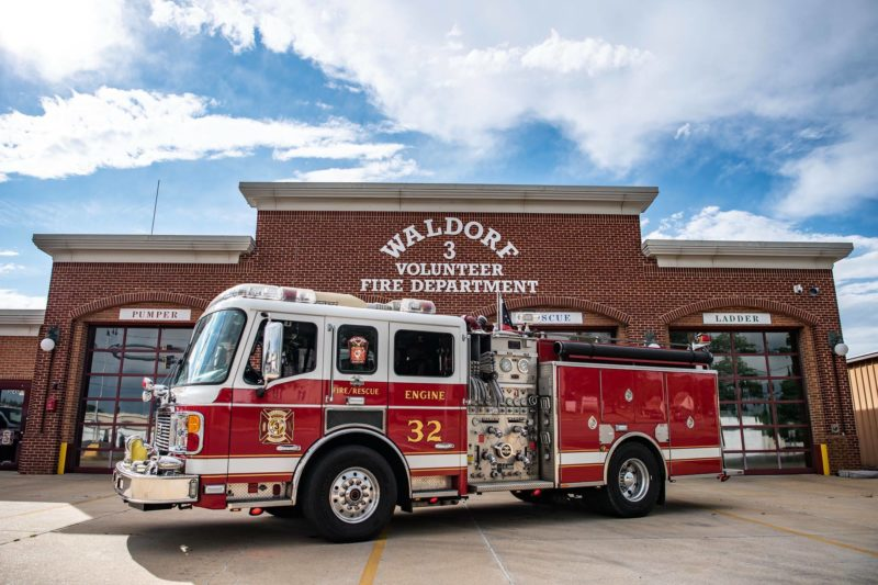 Waldorf Volunteer Fire Department Hosting Annual Open House on Sunday, October 13, 2019