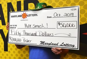 Calvert County Lottery Player Wins $50,000 on Scratch-Off at Ken-Mar Liquors in Prince Frederick