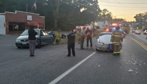 No Injuries Reported After Motor Vehicle Accident in Lexington Park