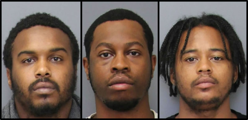Police in Charles County Arrest Three Men for Armed Robbery