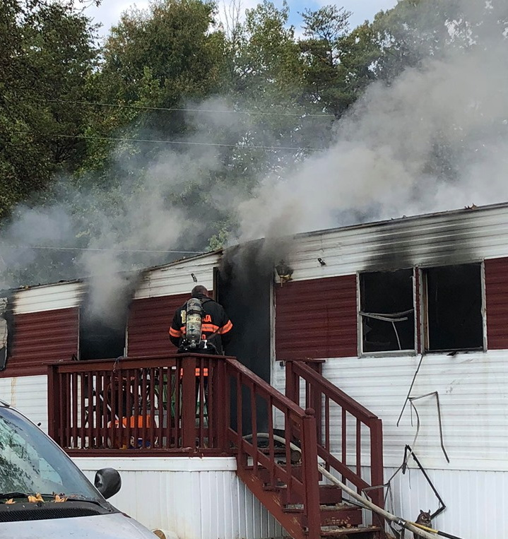 UPDATE: Fire Marshal Investigating Trailer Fire in Waldorf, Dog Perishes and Three Adults Displaced