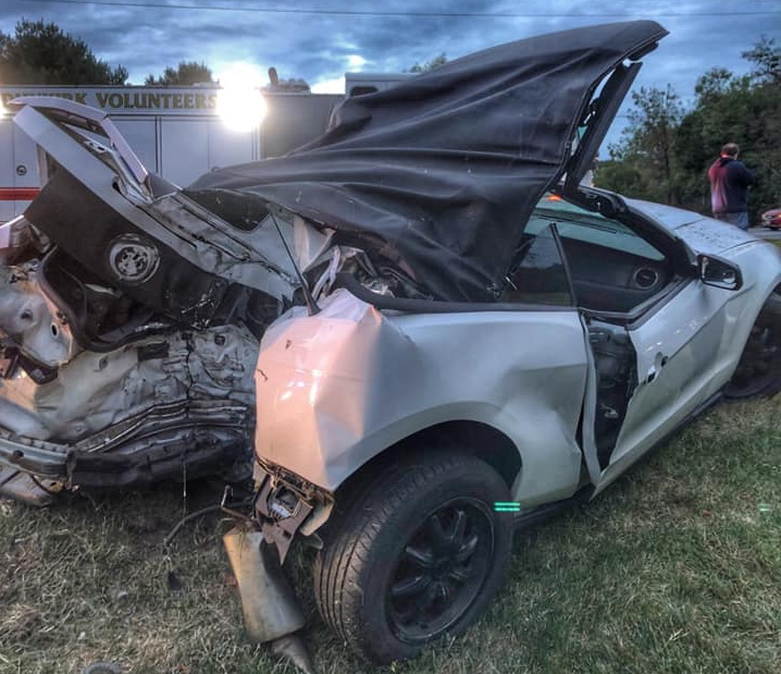 One Transported to Area Trauma Center After Serious Crash in Owings